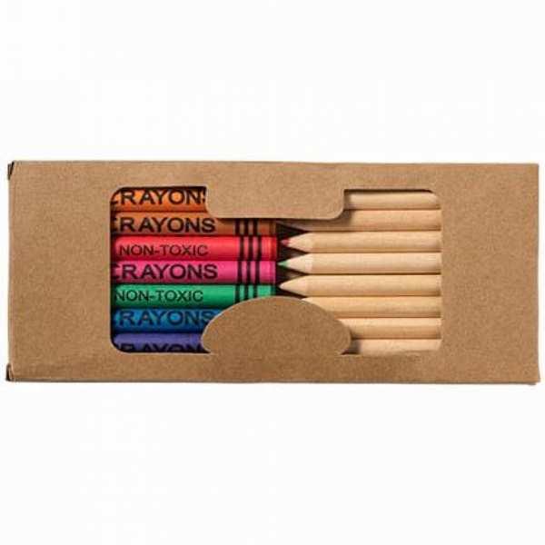 Набор из 19 карандашей в картонной коробке