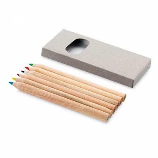 Набор Эскиз, 6 цветных карандашей