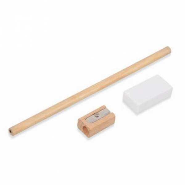 Набор Пикассо: простой карандаш, точилка, ластик