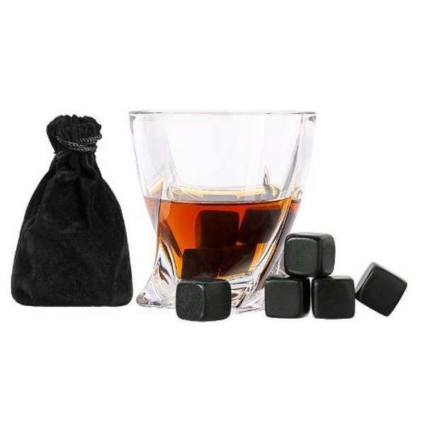 Охлаждающие камни для напитков Черные скалы