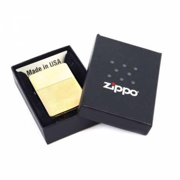 Зажигалка ZIPPO Classic, цвет матовая латунь