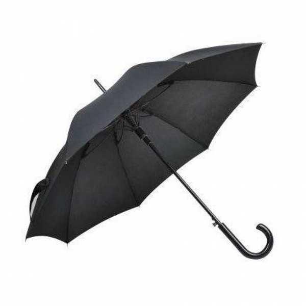 Зонт-трость Анти-Шторм, деревянная ручка, противоштормовой