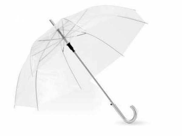 Зонт-трость Лаурель, прозрачный