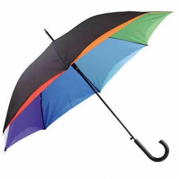 Зонт-трость Rainbow, двухслойный