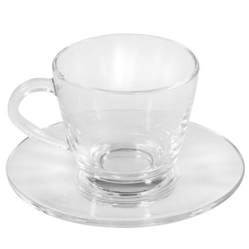 Чайная пара Классическая Стеклянная