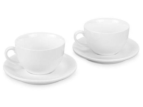 Набор из 2 чашек с блюдцами Double