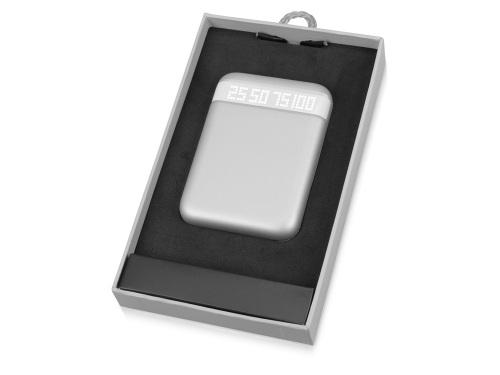 Power Bank (внешний аккумулятор) Серебро, 10000 мАч
